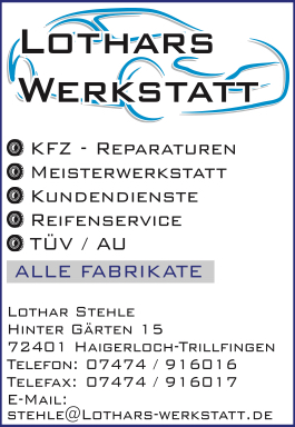 Lothars Werkstatt